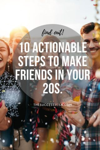 making friends in your 20s