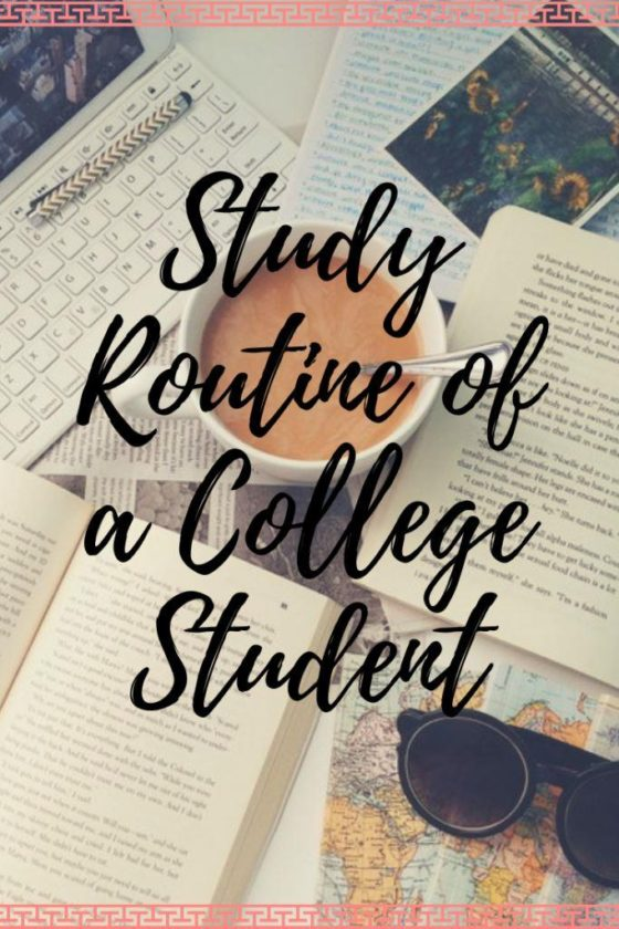 Study Routine of  a College Student