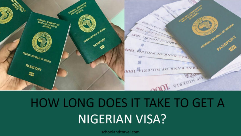 How long does it take to get nigerian visa, How long does it take to get nigerian passport