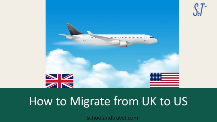 How to migrate to UK from US