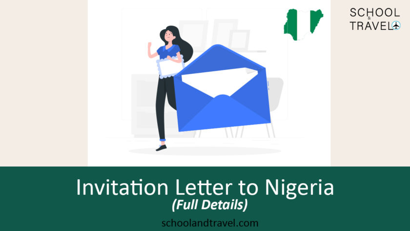 Invitation letter to Nigeria