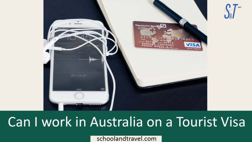 Australia Visa ETA, Working Holiday Visa(WHV) Australia ETA, Can I work in Australia on a Tourist Visa