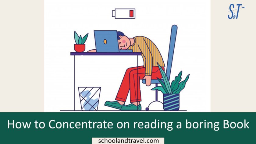 How to Concentrate on reading a boring Book