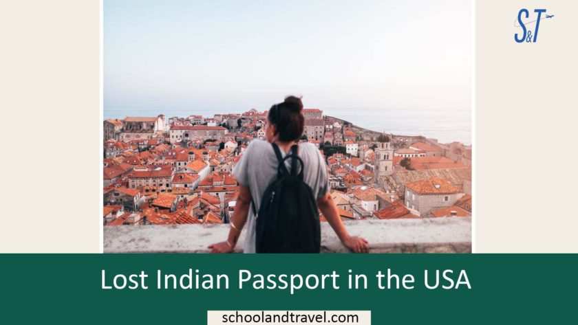 Lost Indian Passport in the USA