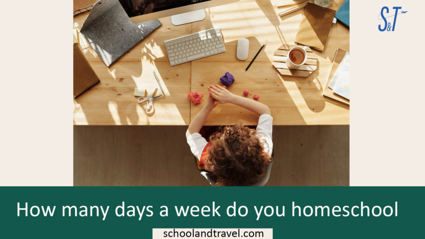 How many days a week do you homeschool, Average homeschool day, how many hours a day do you homeschool