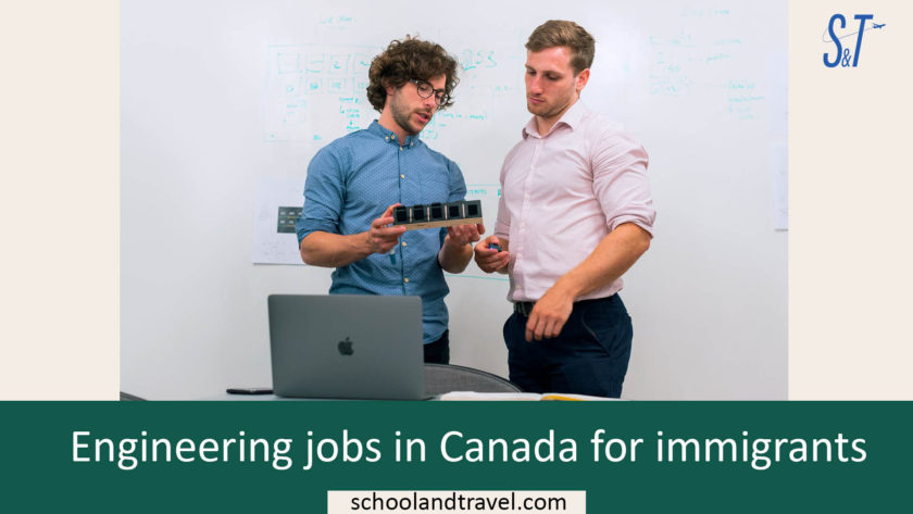 Engineering jobs in Canada for immigrants