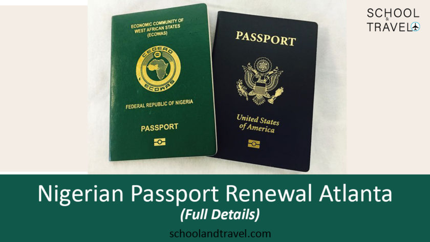 Nigerian Passport Renewal Atlanta