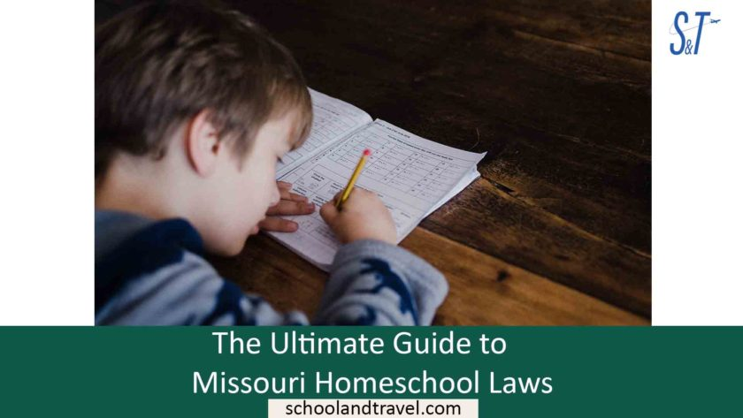 The Ultimate Guide to Missouri Homeschool Laws