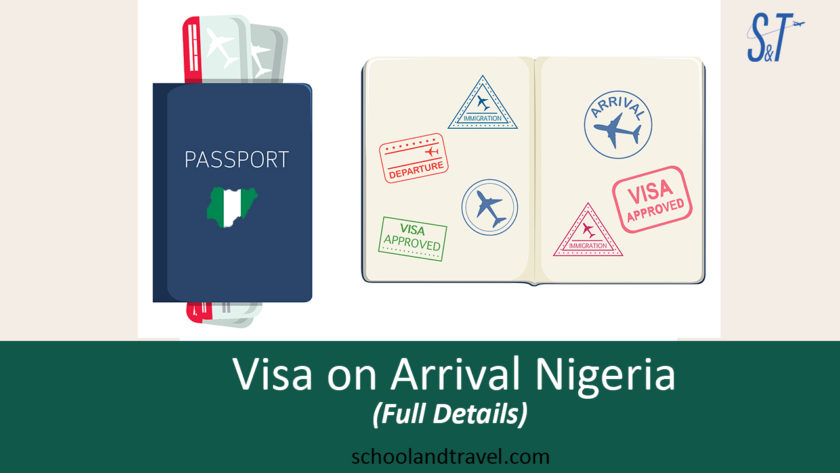 Visa on approval Nigeria