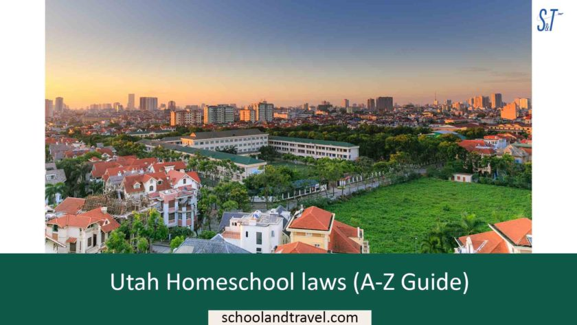 Utah Homeschool laws (A-Z Guide)