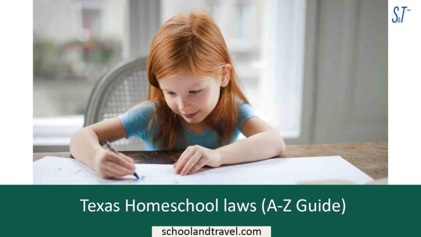 Texas Homeschool laws (A-Z Guide)
