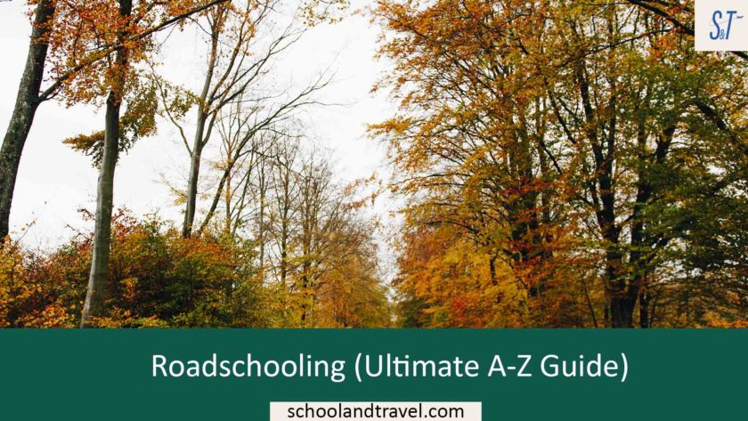 Roadschooling (Ultimate A-Z Guide), Homeschooling while traveling the united states