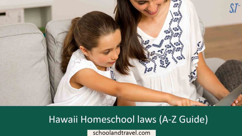 Hawaii Homeschool laws (A-Z Guide)