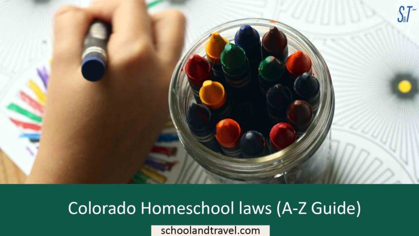 Colorado Homeschool laws (A-Z Guide)