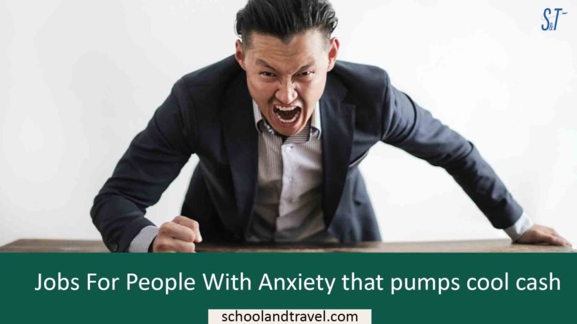Jobs For People With Anxiety that pumps cool cash($$$)