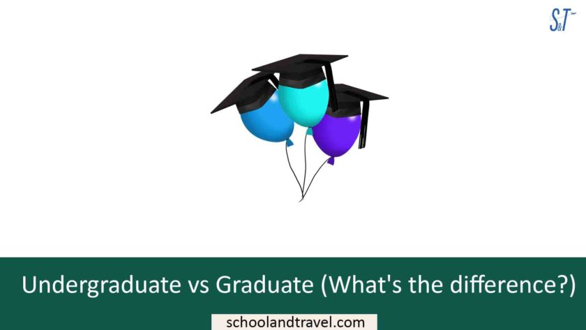 Undergraduate vs Graduate (What's the difference?)