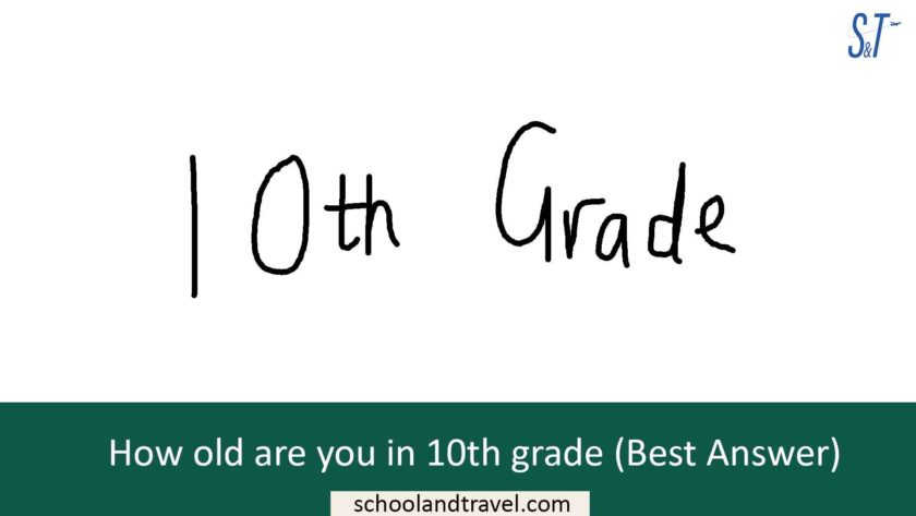 How old are you in 10th grade