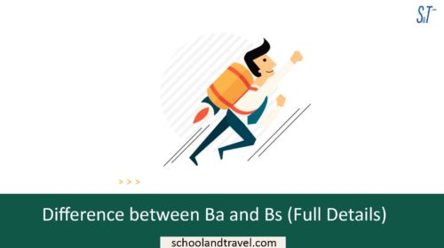 Difference between Ba and Bs (Full Details)