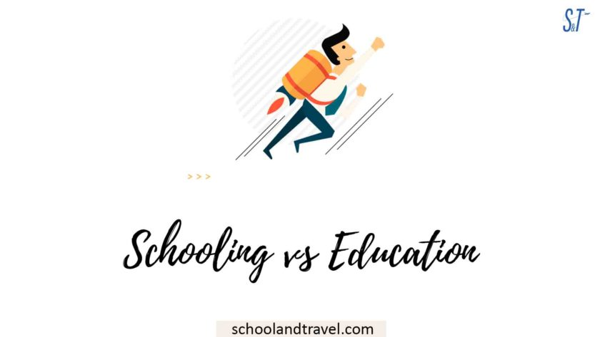 Schooling vs Education