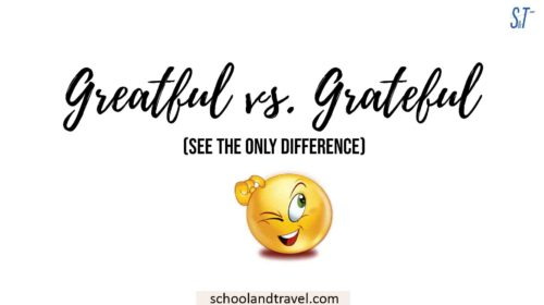 greatful vs. grateful