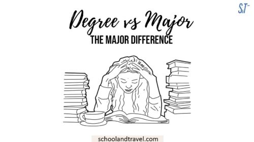 Degree vs Major