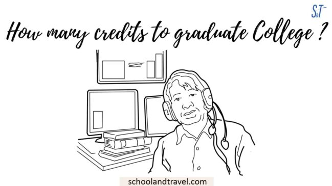 How many credits to graduate College
