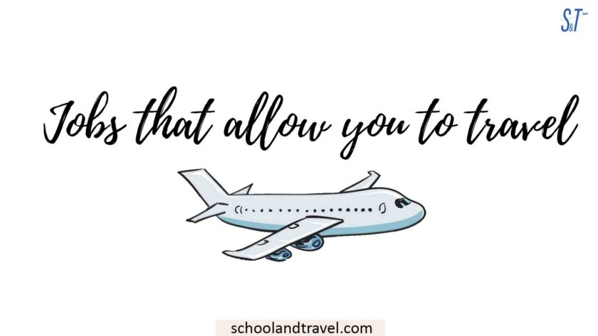 Jobs that allow you to travel