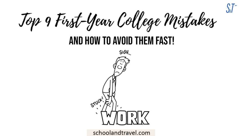First-Year College Mistakes