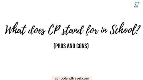 what does CP stand for in school