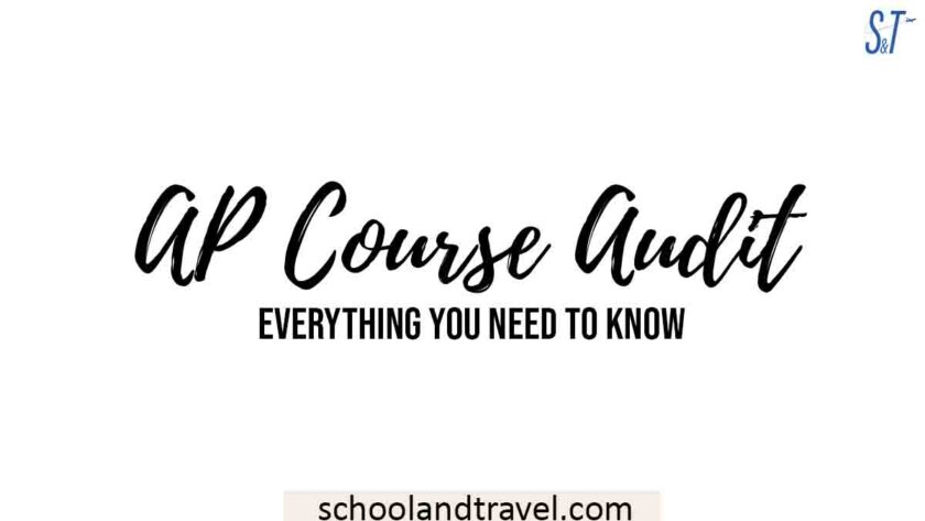 AP COURSE AUDIT
