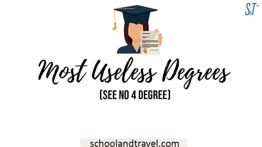 Most Useless Degrees