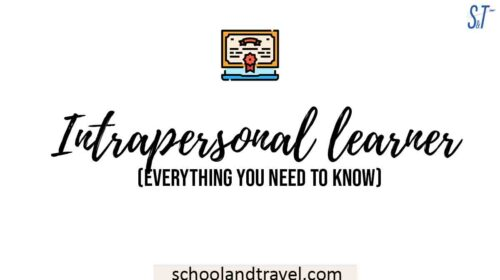 Intrapersonal learner