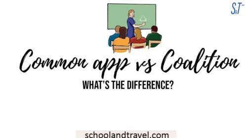 Common app vs Coalition