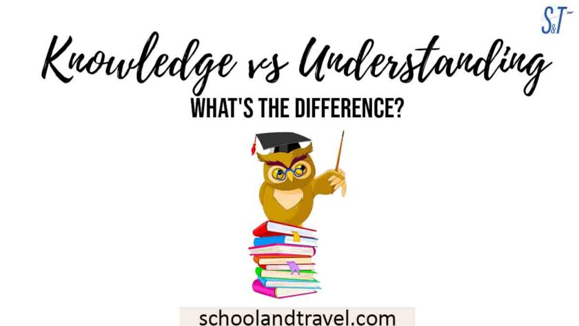 Differences Between Knowledge And Understanding