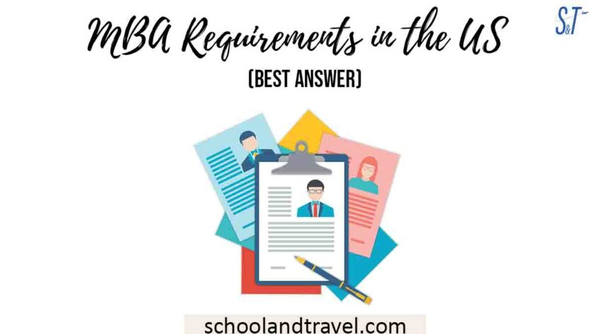 MBA Requirements in the US