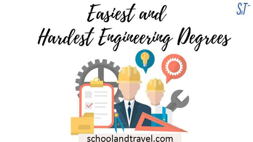 Easiest and Hardest Engineering Degrees