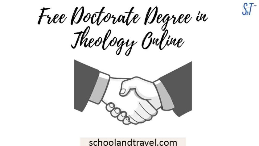Free Doctorate Degree in Theology Online