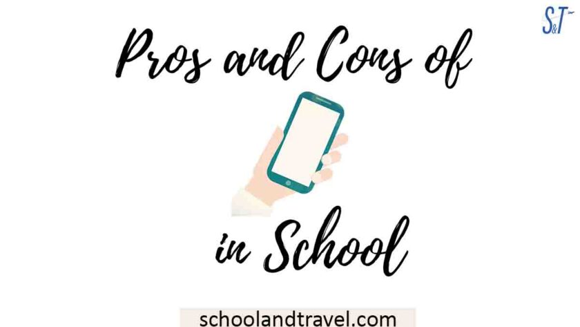 Pros and Cons of Cell phones in School